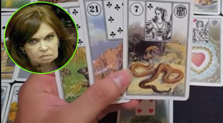 Photo of Vidente le tiro las cartas a Cristina y ya dijo como sale en Octubre