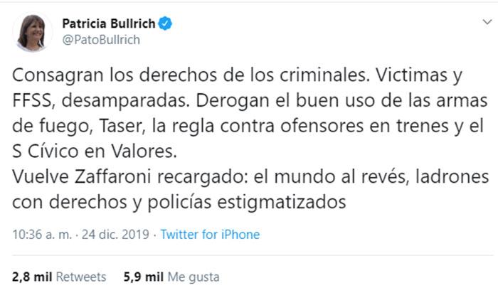 patricia-bullrich-tuit-medidas-gobierno-completo