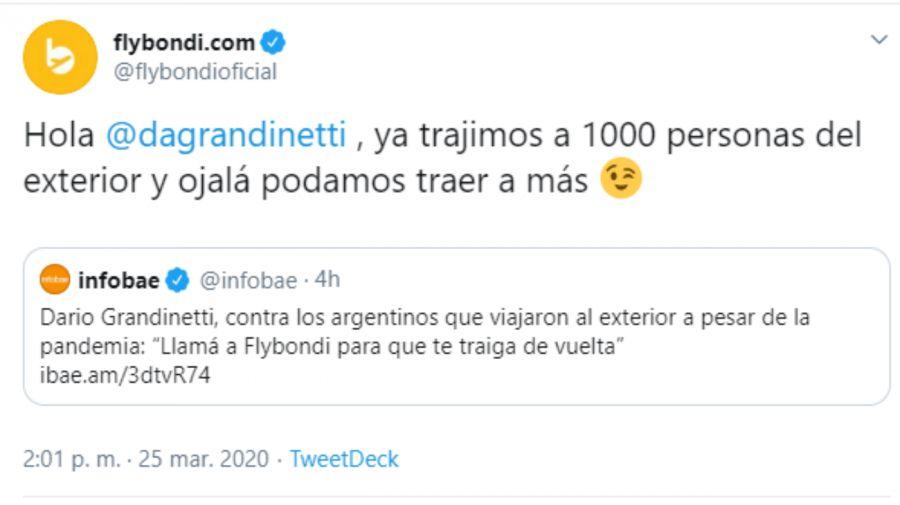 dario-grandinett-flybondi-tuit completo