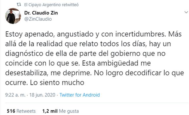 claudio-zin-tuit-angustiado-completo