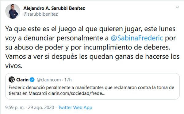 sabina-frederic-abogado-tuit-denuncia-completo