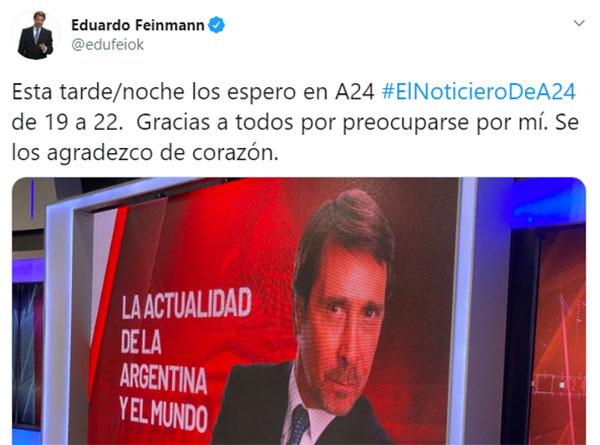 eduardo-feinmann-tuit-regreso-completo